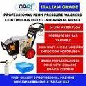 Italian Grade 220 Bar Car Washer Industrial Grade Continuous Duty
