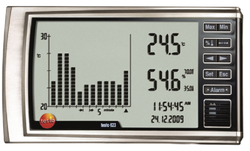 Testo 623 Large Display Hygrometer with History function