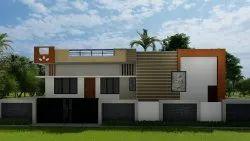 Building Front Elevation Design, Designing