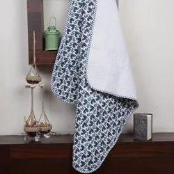 Hand Block Printed Indian Jaipuri Baby Quilt  Wholesaler