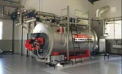 Oil Fired 2.5 TPH Industrial Steam Boiler, IBR Approved