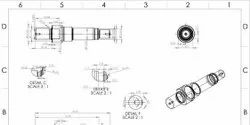 2D Mechanical Drafting Services