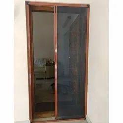 Aluminium Pleated Door Mosquito Net