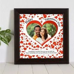 Valentine Gifts for Him in Photo on Tiles