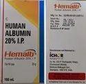 Hemalb Human Albumin 20 I P