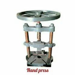 JDI Hand Press Manual Paper Plate Making Machine
