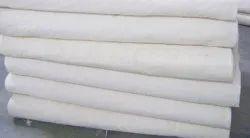 125 GSM Plain Cotton Fabric, Plain/Solids, White