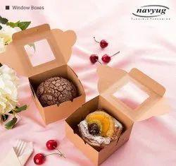 Window Cake Packaging Box