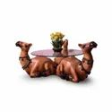 Royal Rajasthani Camel Center Table For Glass Top