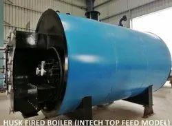 Husk Fired 4 TPH Steam Boiler