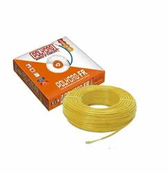 0.75 sqmm Polycab House Wires, Yellow, 90 m