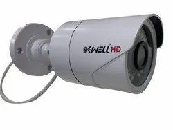 1.3 MP 1280 x 720 Kwell Bullet HD CCTV Camera, Camera Range: 10 to 20 m