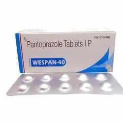 Pantaprazole 40mg Tablet Wespan 40