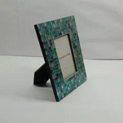 Decorative Glass Photo Frame