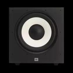 Black JBL Stage A120P Outdoor Speakers