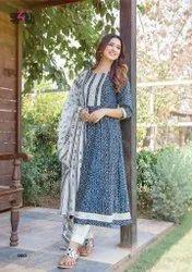 Designer Gown With Dupatta