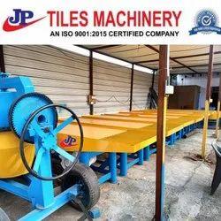 Manual paver block making machine