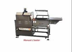 Manual L Type Sealer Machine