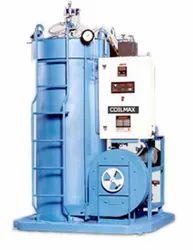Oil & Gas Fired 850 kg/hr Coil Type Steam Boiler, Non-IBR