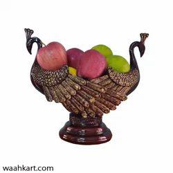 Peacock Ornamental Multipurpose Urli Bowl