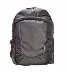 Matty Plain School Bag Black