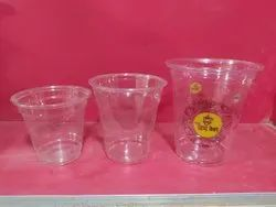 Disposable Pet Glass With Print