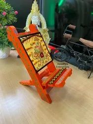 MDF Hand Painted Mobile Holder for Wedding Gift
