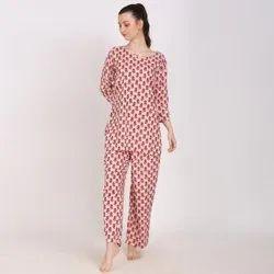 Ladies Designer Night Suits
