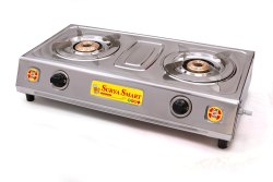 Surya Smart 2 LPG Gas Stove, For Kitchen, Model Name/Number: DVS156