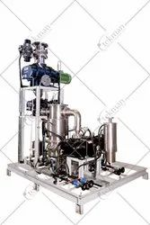 Tekman Double Booster With Dry Combination Vacuum Pumping System