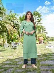 8 Color Latest New Designer Rayon Ladies Indian Wear Saree