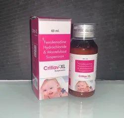 Fexofenadine  +montelukast Suspension.