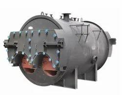 Wood Fired 400 Kg/hr Steam Boiler, Non IBR