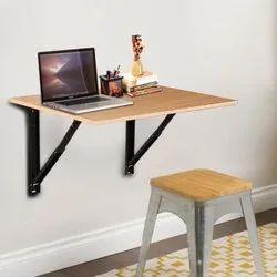 KAWACHI LAPTOP FOLDING SHELF/STUDY TABLE/WORK TABLE/ COLLAPSIBLE SHELF BRACKET TABLE KW55