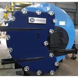 Wood & Coal Fired 1000 kg/hr Smoke Tube Steam Boiler, IBR Approved