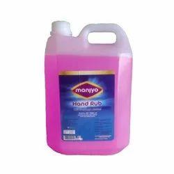 Manjyo Hand Rub Sanitizer 5 litres