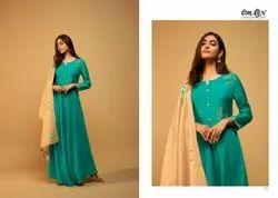 Shaheen Om Tex Fancy Festive Wear Ladies Gown Collection