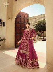 Glossy Designer Heavy Sarara