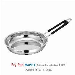 satinless steel Fry Pan -MAPPLE