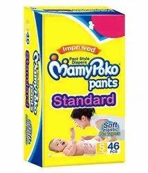Unicharm Mamy Poko Pants S46, Size: Small