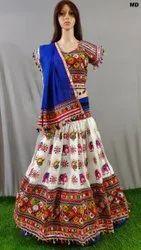 Embroidered Chaniya Choli