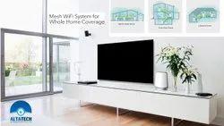 Wireless or Wi-Fi White Netgear Orbi Rbk53 Wifi Mesh Router, For Home/Villa, 1800MBPS