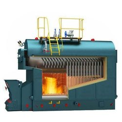 Wood Fired 500 kg/hr Steam Boiler, IBR Approved