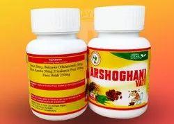Arshogani Vati, 60 Tablets In Jar Pack