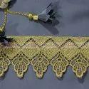 Embroidered  GPO Zari Lace