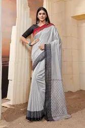 Woman Designer Bhagalpuri Saree