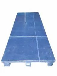 Blue Rectangular Two Way Full Base Wooden Pallet, For Shipping