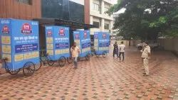 Advertising Boards Vinyl Road Shows Organizing Services, For Advertisement
