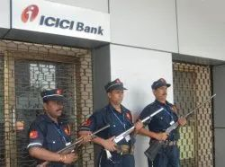 Corporate Armed Bank Security Guard Service
