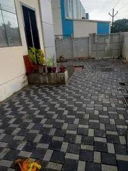 Concrete Flooring RCC Paver Blocks Installation Service, For Outdoor